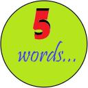 Обложка канала @five_english_words